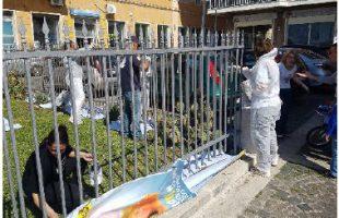 pulizia volontaria monumento caduti