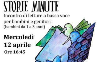 Piccole Storie Minute 12aprile