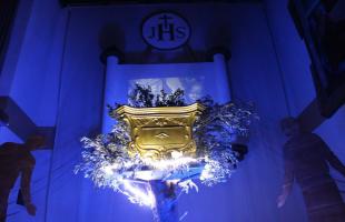altare chiesa san giuseppe campo dell'oro