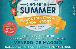 opening summer montalto