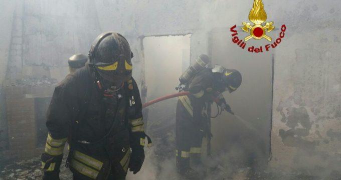 incendio sant'agostino