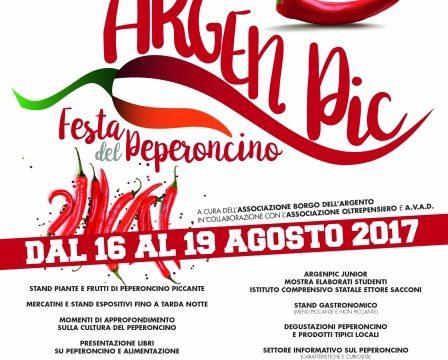 Locandina - Festa del Peperoncino - Tarquinia Lido VT - 101