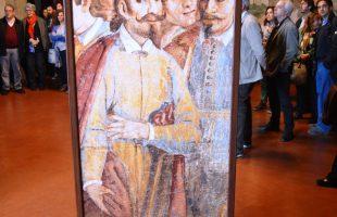 sala affreschi tarquinia- totem