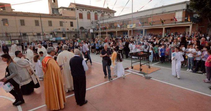 salesiani - inaugurazione campetti