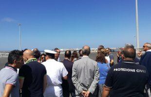 sopralluogo porto per migranti