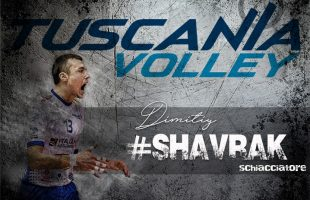 Shavrak volley tuscania
