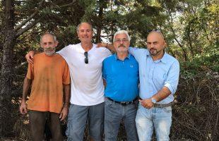 assessore Prato con volontari
