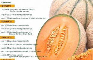 locandina sagra melone