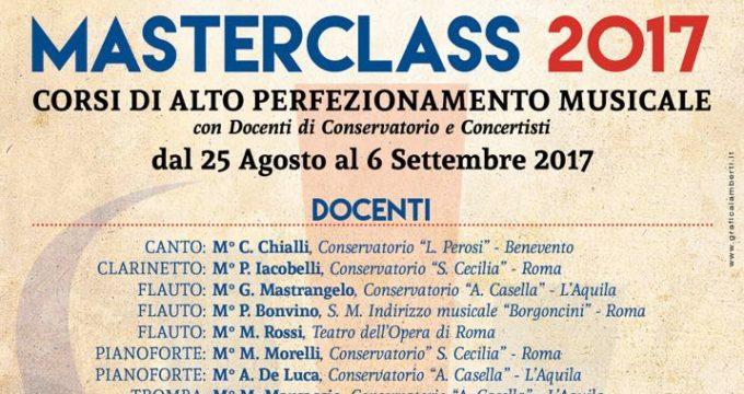 accademia musica tarquinia masterclass