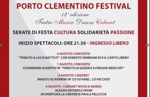 porto clementino festival 2017