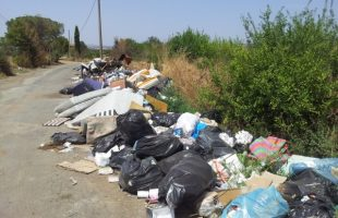 rifiuti strada tuscanese
