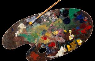palette-tavolozza pittore