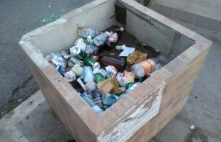 degrado spazzatura