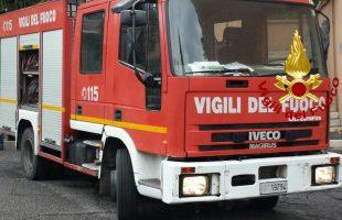camion vigili del fuoco