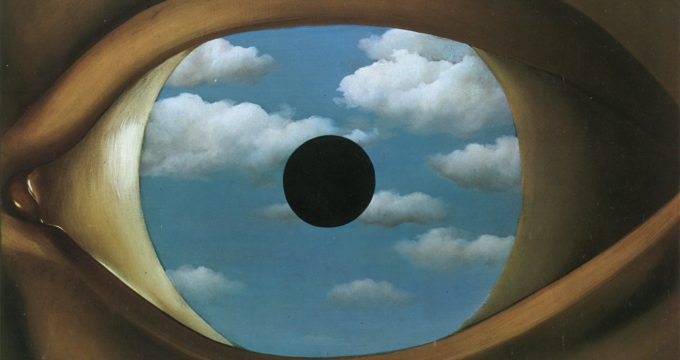 The-False-Mirror magritte