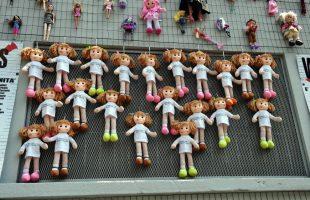 muro delle bambole