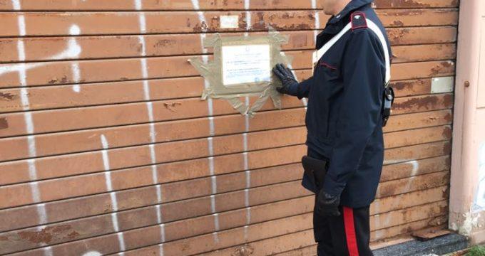 La pseudo agenzia sequestrata dai Carabinieri (4)