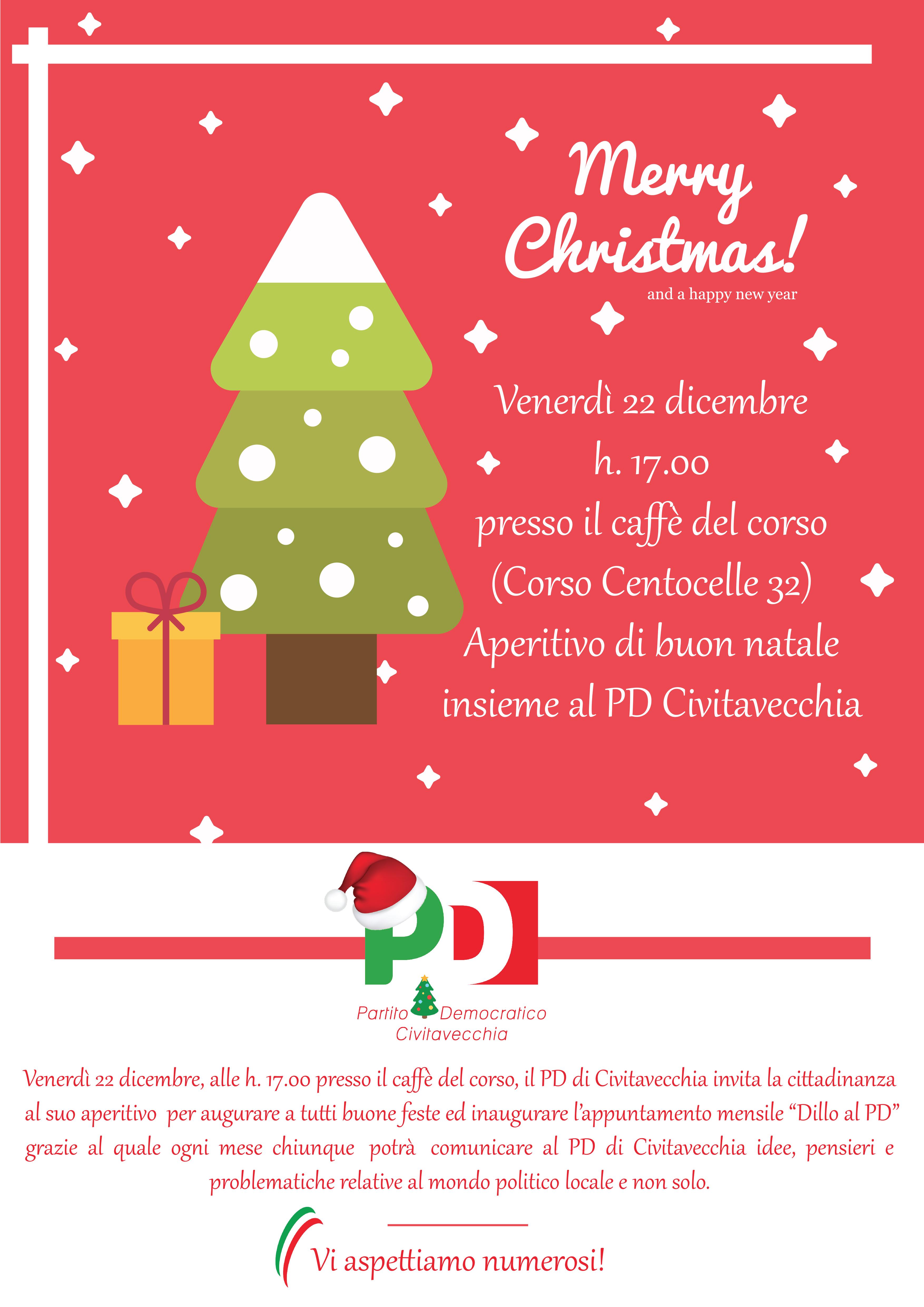 Grazie E Buon Natale.Ferri Pd Il 22 Dicembre Vi Aspettiamo Per Gli Auguri Di