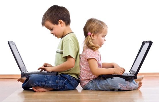 bambini-e- computer
