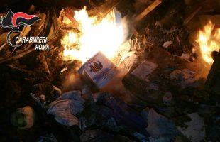 FRASCATI + FORESTALE - Combustione illecita di rifiuti (6)