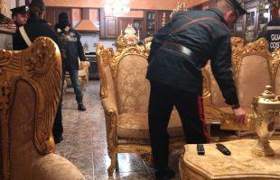 operazione eclissi Le perquisizioni dei Carabinieri (1)