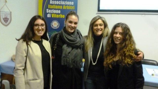 Maria Marotta con alcune colleghe viterbesi