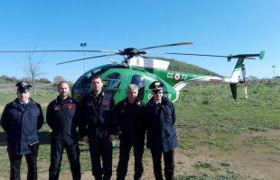 elicottero carabinieri cerveteri
