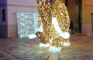 sculture di luce gaeta