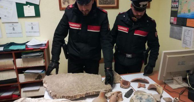 ANZIO - I reperti archeologici recuperati dai Carabinieri (3)