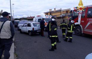incidente auto ladispoli
