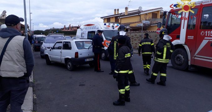 incidente auto ladispoli