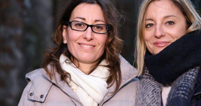 Silvia Blasi e Roberta Lombardi