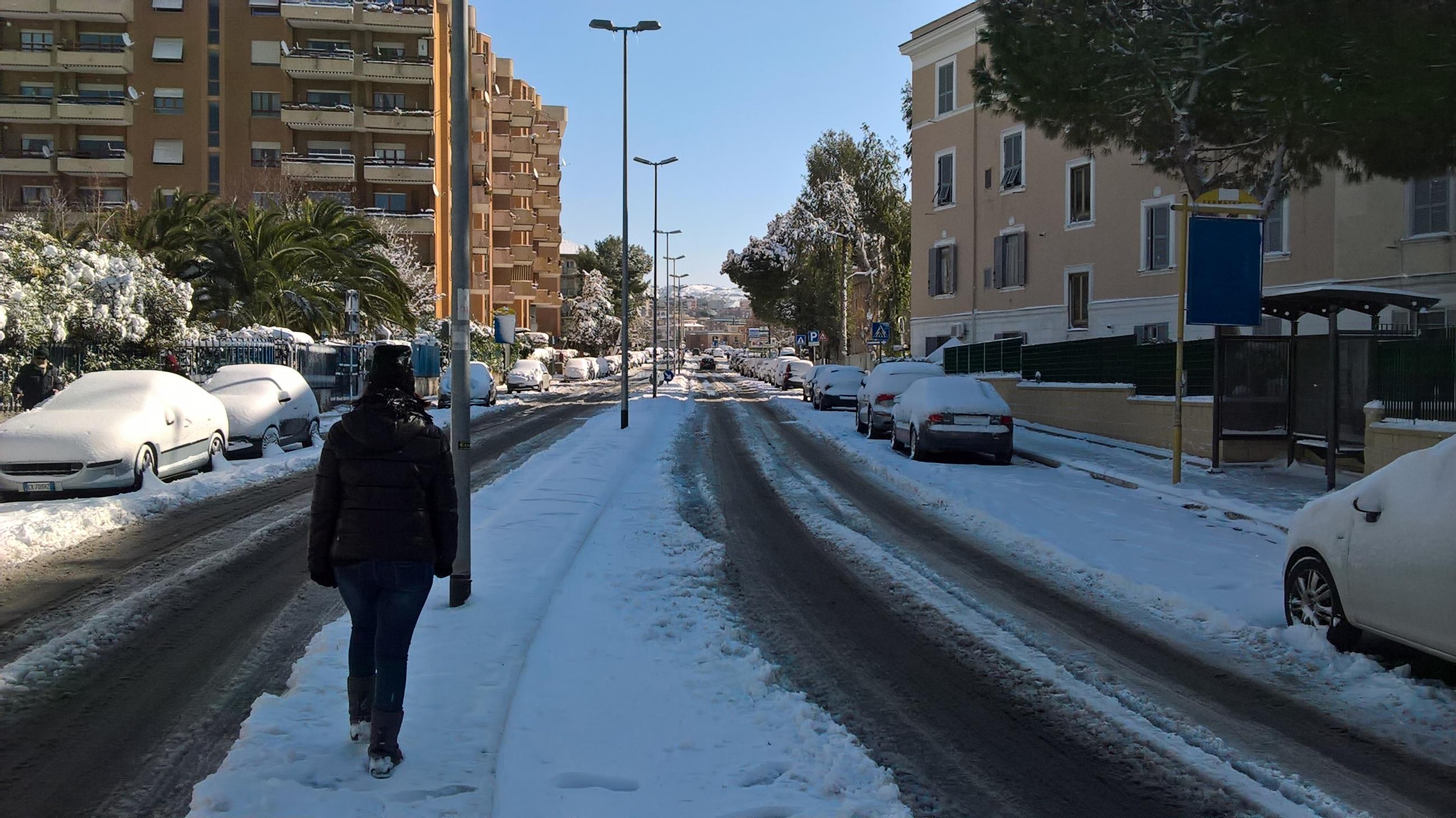 civitavecchia neve