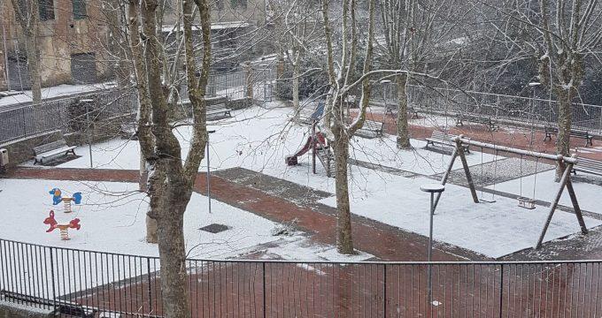 maltempo neve tolfa