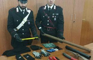 EUR - Il kit sequestrato dai Carabinieri