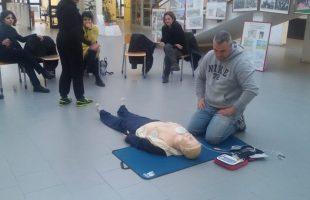 defibrillatore polizia cv
