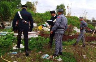 CASILINA + FORESTALE - Abbandono e gestione illecita di rifiuti (2)