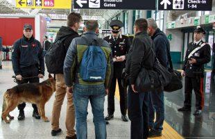 CP AEROPORTI - Controlli dei Carabinieri Aeroporto Fiumicino (2)