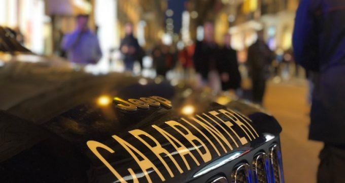 I Carabinieri in via del Corso