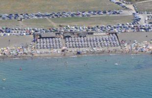 campo di mare stabilimento