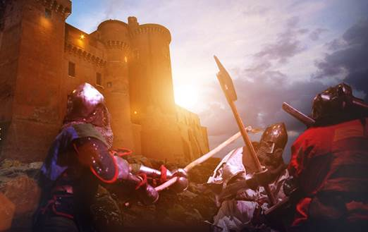 castello battaglie storiche