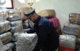 FRASCATI - Il maxi sequestro di droga effettuato dai Carabinieri (4)