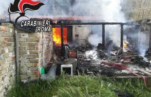 Il b&b distrutto dalle fiamme (1)
