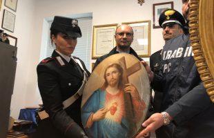 SAN PIETRO - Il quadro rinvenuto dai Carabinieri (3)