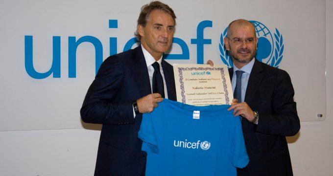 UNICEF mancini