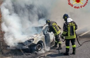 incendio auto gra