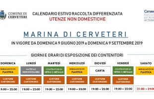 Calendario Raccolta Differenziata Cerveteri.Calendario Raccolta Differenziata Cerveteri Archivi